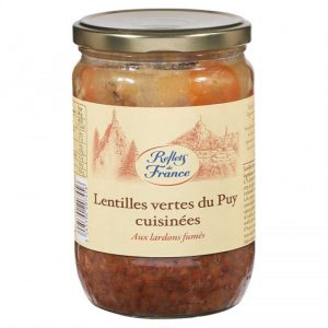 Lentilles Aux Lardons Reflets De France - My French Grocery