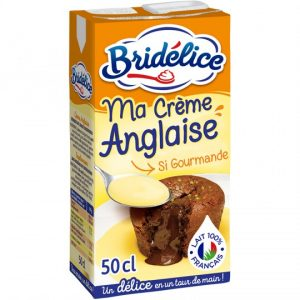 Crème Anglaise Bridélice - My French Grocery