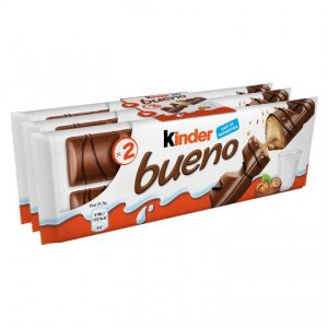 Barres Chocolatées Lait & Noisettes Kinder Bueno- My French Grocery