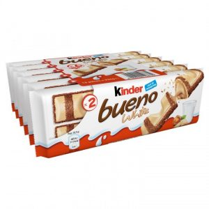 Barres Chocolatées Lait & Noisettes Kinder Bueno - My French Grocery