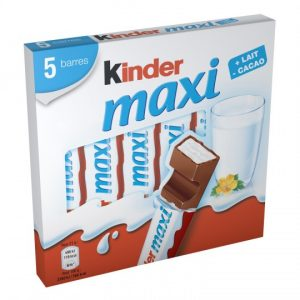 Barres Chocolatées Kinder Maxi - My French Grocery