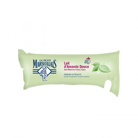 "Liquid Soap Sweet Almond Milk Refill ""Le Petit Marseillais"""