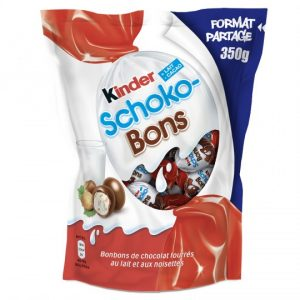 Bonbons Chocolat Lait Noisettes Kinder Schoko-Bons - My French Grocery