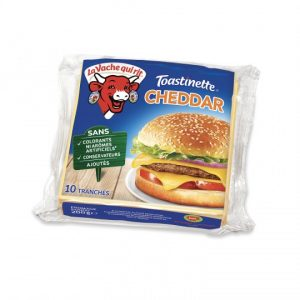 Fromage Fondu Cheddar Toastinette La Vache Qui Rit - My French Grocery