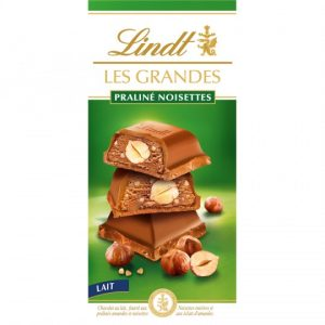 Lindt Praline Hazelnut Milk Chocolate