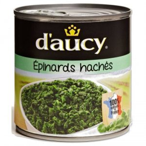 Chopped Spinach D'Aucy XL