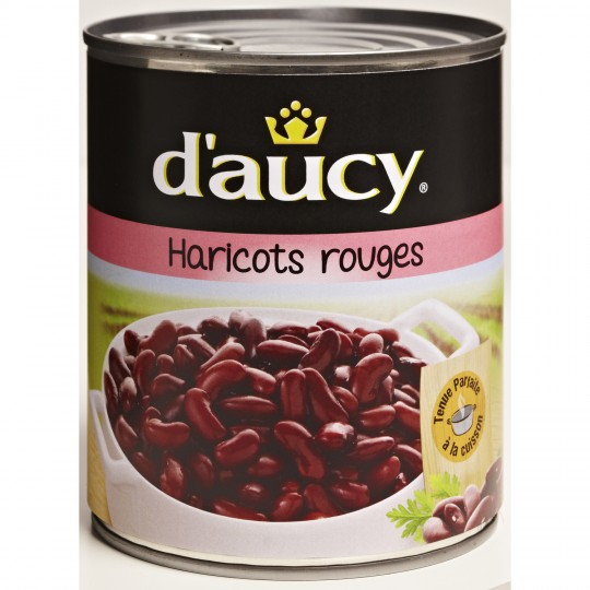 Haricots Rouges D'Aucy XL - My French Grocery