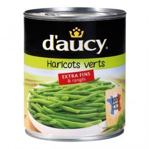 Haricots Verts Extra Fins D'Aucy XL - My French Grocery