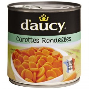 Carottes En Rondelles D'Aucy - My French Grocery