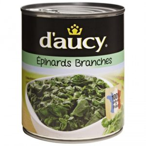 Épinards En Branches D'Aucy XL - My French Grocery