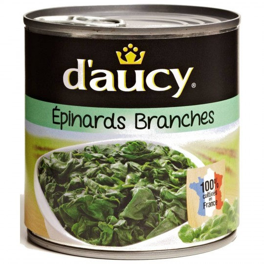 Épinards En Branches D'Aucy - My French Grocery
