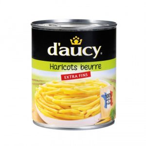 Haricots Beurre Extra Fins D'Aucy XL - My French Grocery
