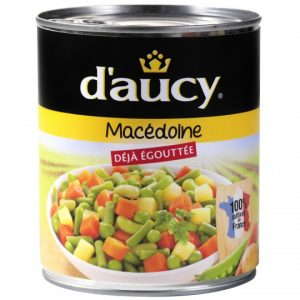 Macédoine De Légumes D'Aucy XL - My French Grocery