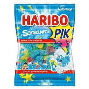 Bonbons Les Schtroumpfs Pik Haribo - My French Grocery