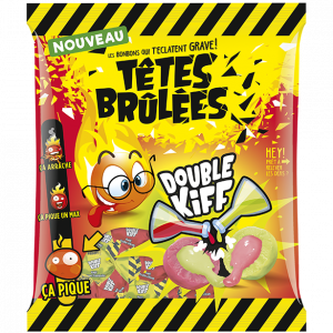 Bonbons Têtes Brulées Double Kiff - My French Grocery