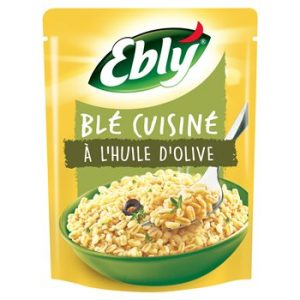 Blé Pré-cuit Cuisiné à L'huile d'Olive Ebly