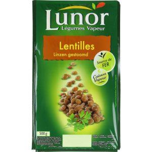 Lentilles Lunor