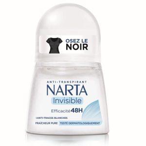 Déodorant Invisible Efficacité Fraîcheur Narta