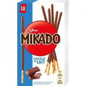 Biscuits Chocolat Au Lait Lu Mikado - My French Grocery